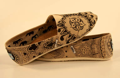 Henna Shoes by DelishiousKicks