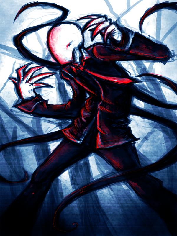 slenderman by Myhatisblue