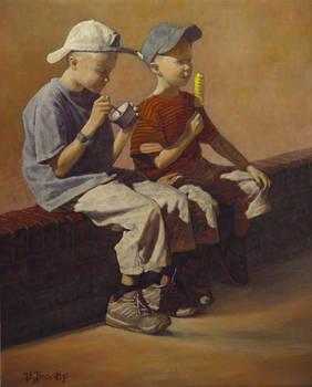 Dutch Boys - 14x17 by bbrootip