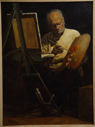 The Artist by Bill Root by ericdalrymple