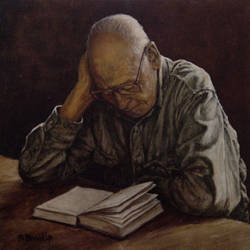 The Reader by Bill Root