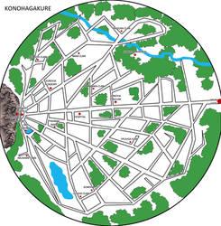 Naruto konoha map