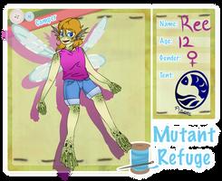 Mutant Refuge: Ree by Punkin-Oau