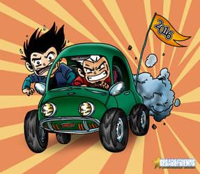 CesarandFriends CAR by Cesarperry