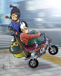 Cesar and Rulo Bike - EP 02 COVER by Cesarperry