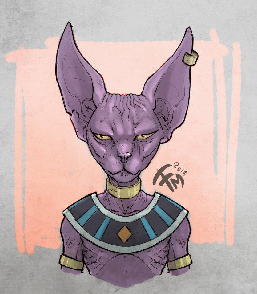 Dragon Ball Super Lord Beerus By Francescosketch On Deviantart