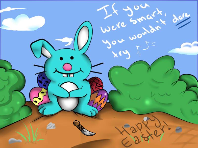 Happy Bunny's Easter by KawaiiAngel23