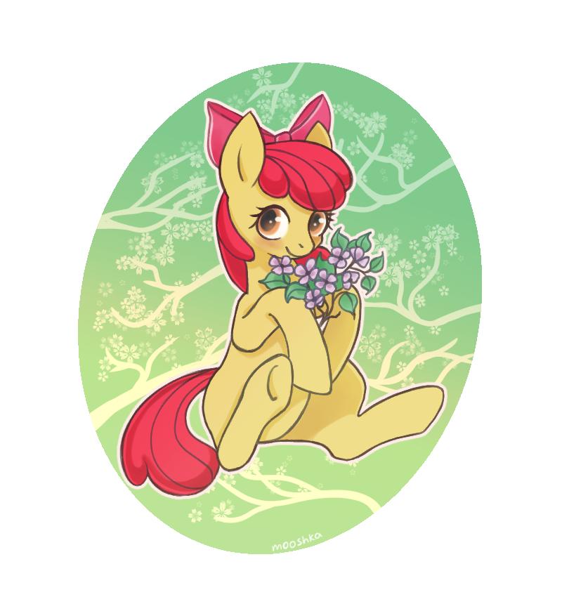 Apple Bloom by mooshkaOwO