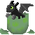 Baby Dragon Icon- Free by GoWaterTribe