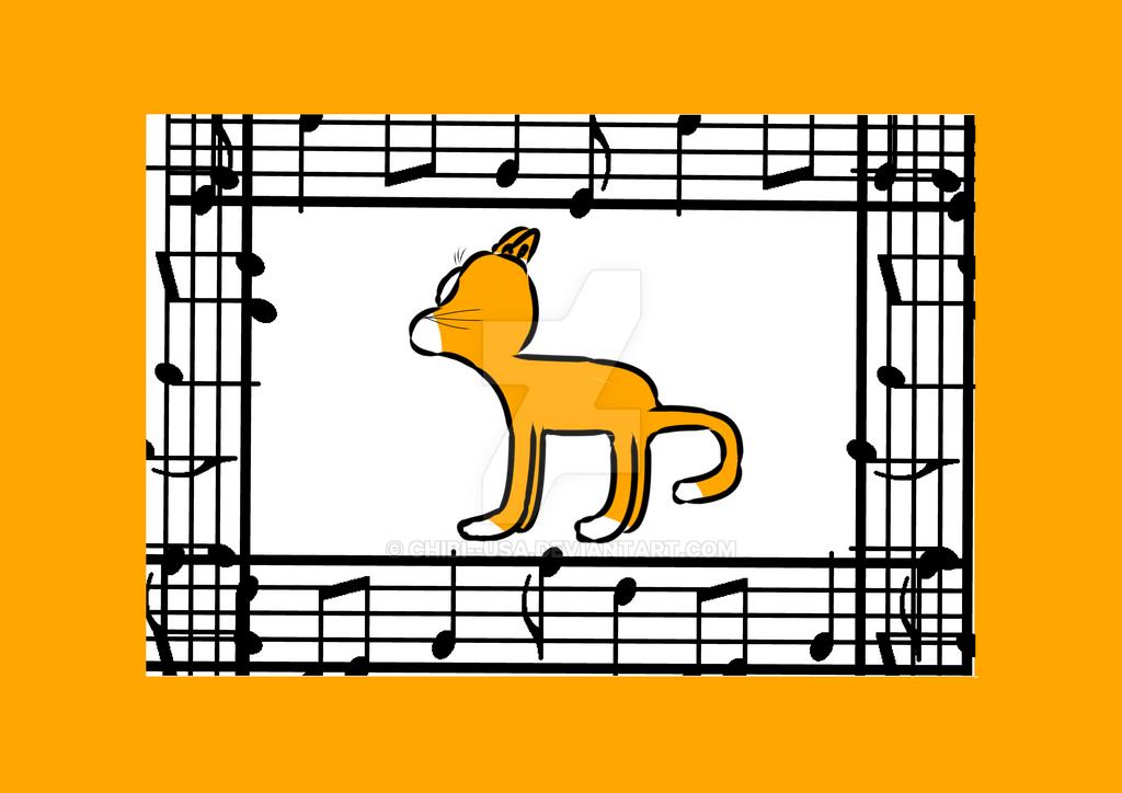 Cat by Chibi--Usa