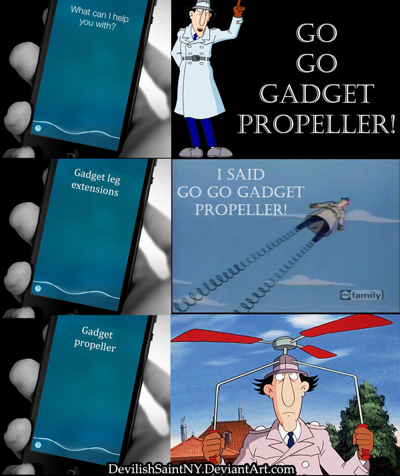 So That's Why Inspector Gadget Always Has Problems by DevilishSaintNY