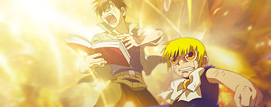 Zatch Bell Kiyomaro Y Gash By Mizterpoyo On Deviantart