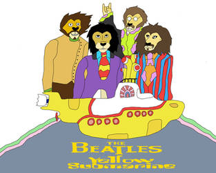 Lion Beatles by magicwolf2012