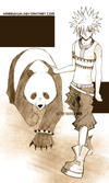 guy with his panda again    FV by harrykun