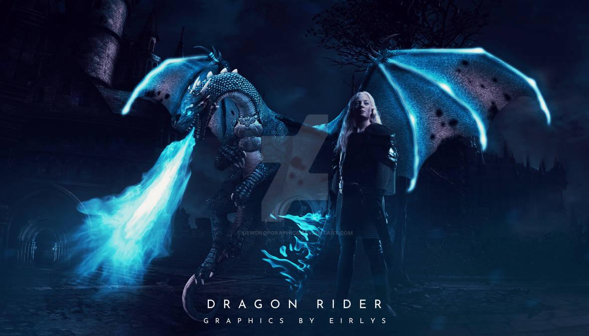 Dragon Rider   A Photo Manipulation