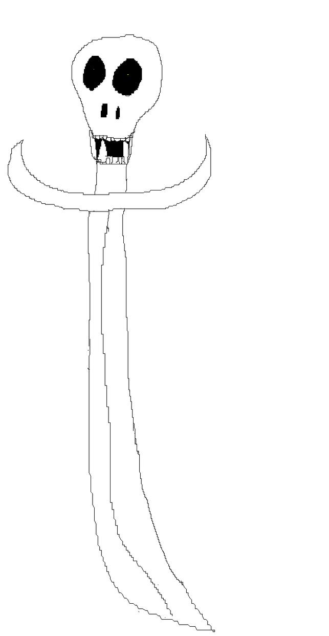 Casey's Sword of Bone by luffy316
