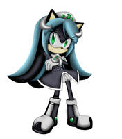 Mana the hedgehog  game style by Gabriel-black-cat