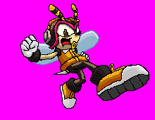 Charmy Bee - Version Heroes by MUGENHunter