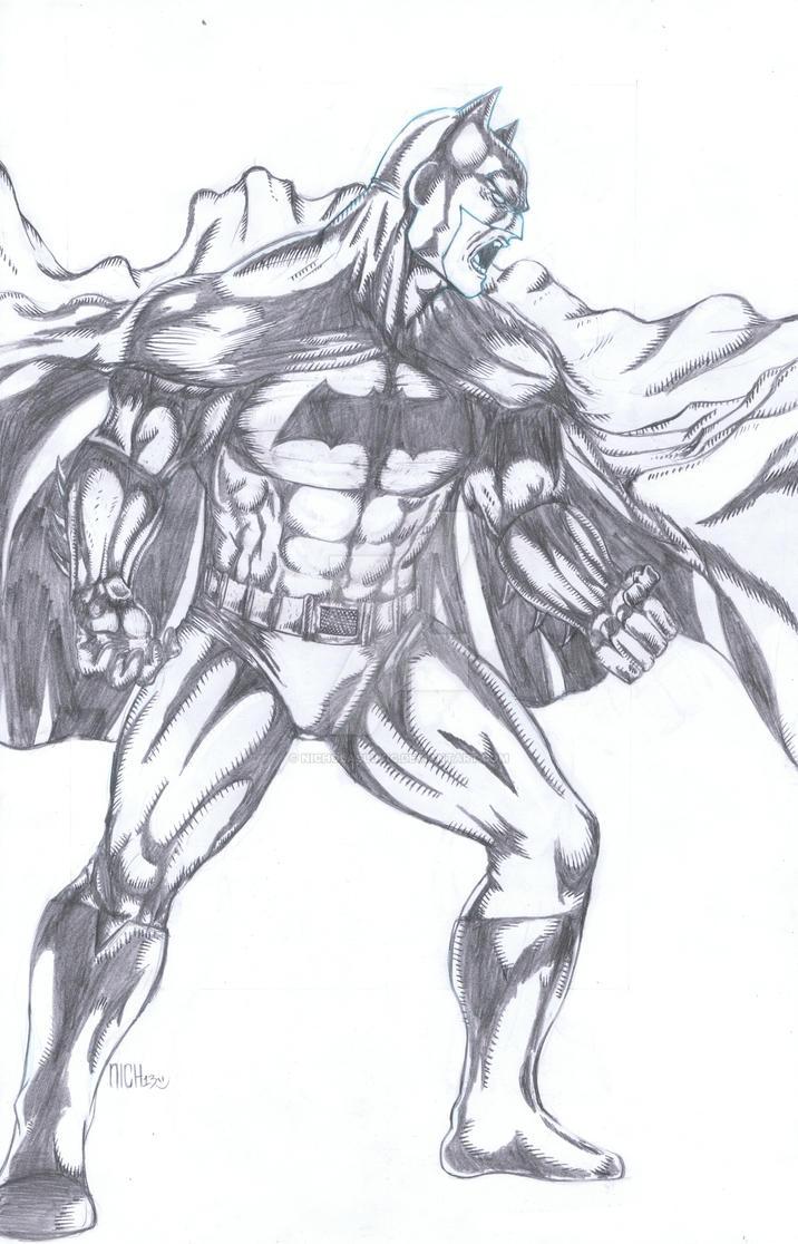 Batman by NicholasLukic