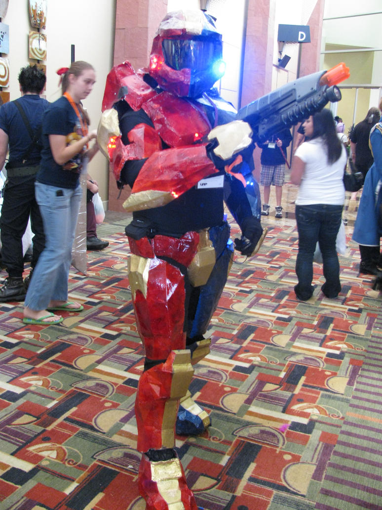Anime Banzai Halo Cosplay by mystangelwingsstock