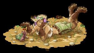 Demo and Fat Lizard