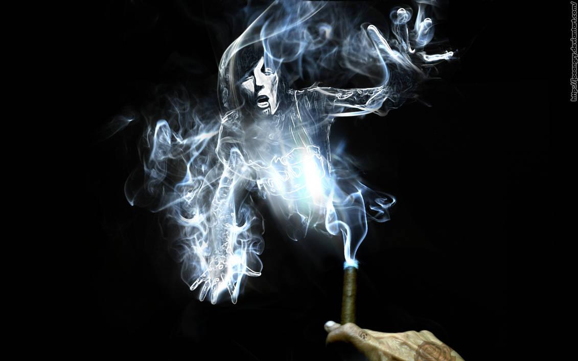 Oli smoke wallpaper by Joeangry on DeviantArt