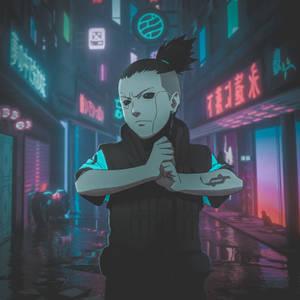 Shikamaru CyberPunk ART