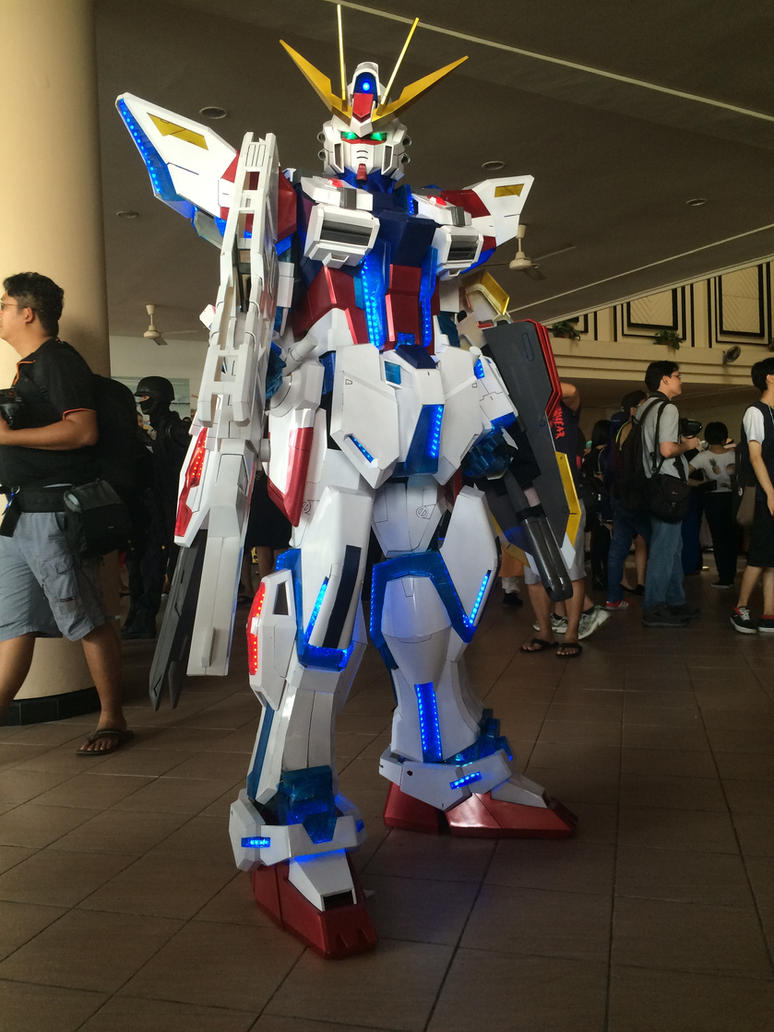 Star Build Strike Gundam by transformers-fan123
