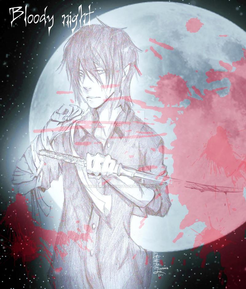 Bloody night by wakana-sakamoto