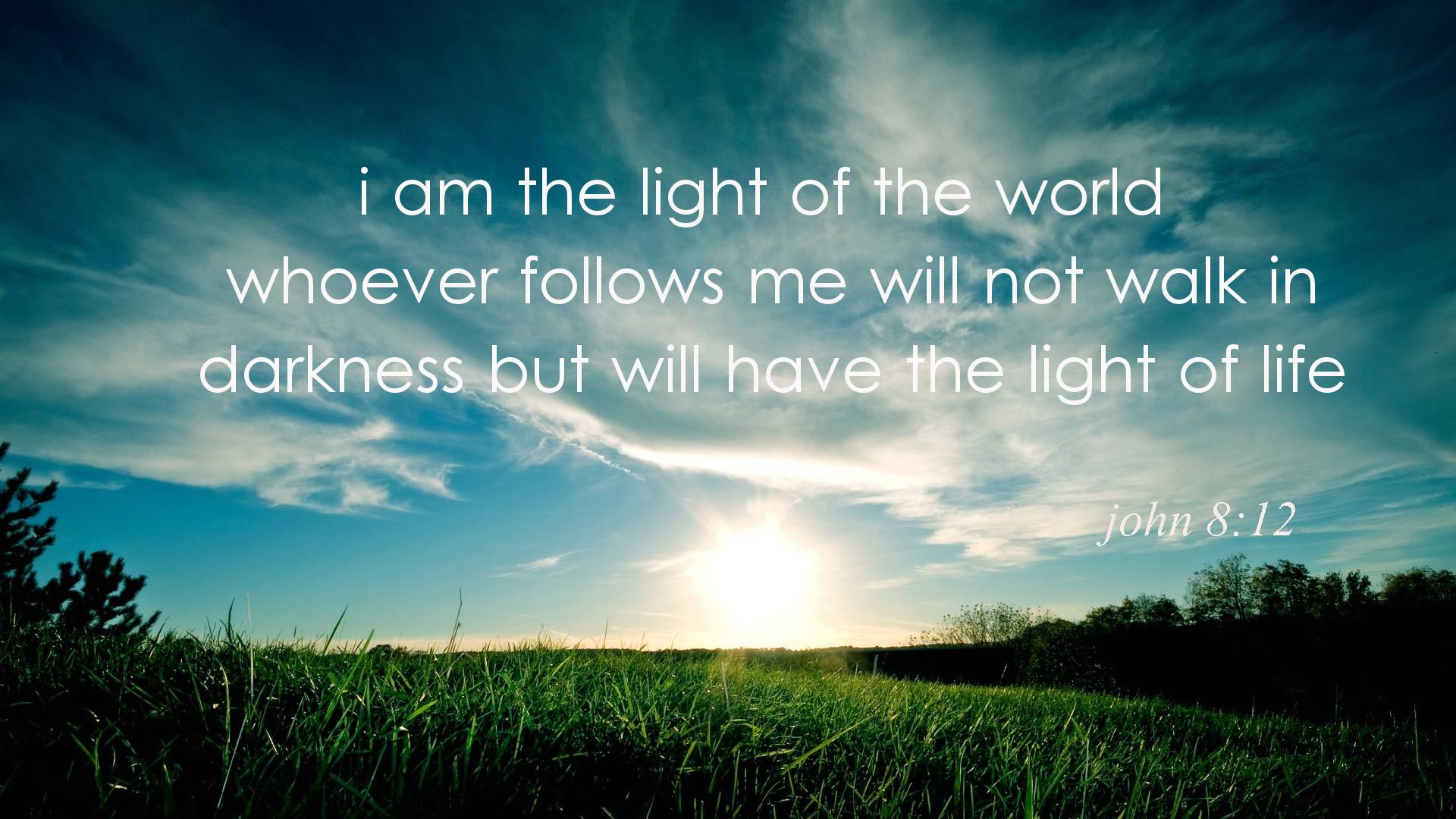 Image result for John 8:12