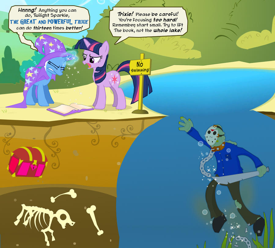 Jason Takes Manehattan by PixelKitties