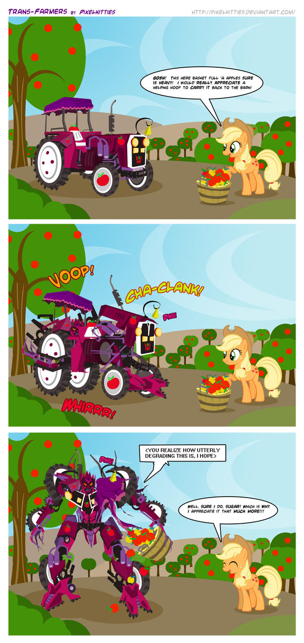 Trans-Farmers by PixelKitties