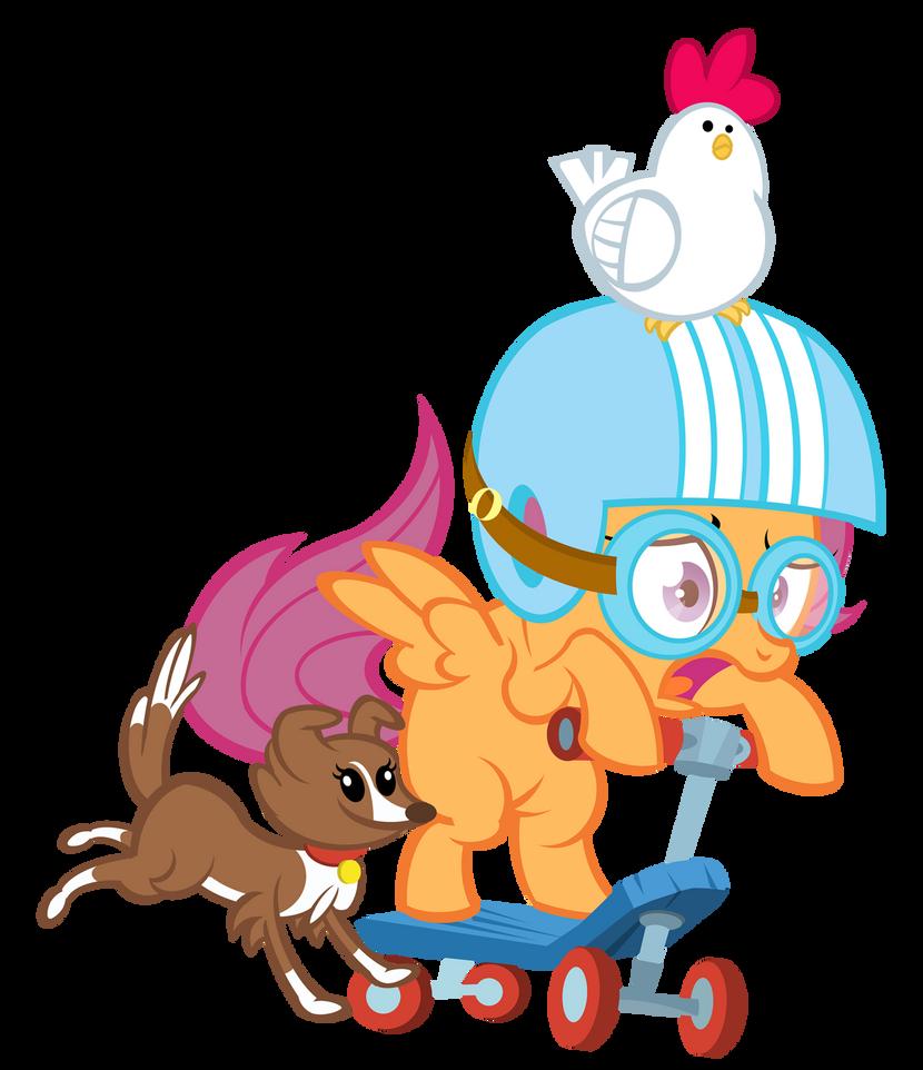 Yo Dawg Scootaloo by PixelKitties