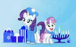 Hanukkah Ponies Two