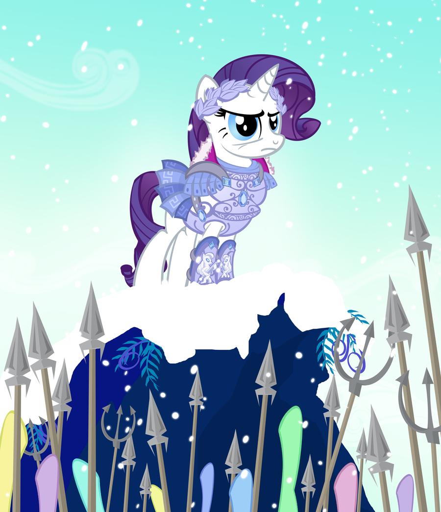 Ponies Wearing Armor by PixelKitties