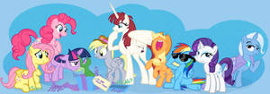 Equestria Daily 100 Million Hits Banner