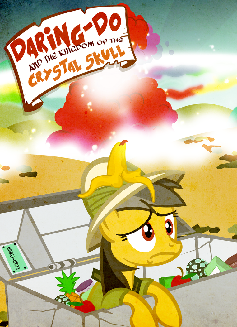 Daring Do Crystal Skull Cover by PixelKitties