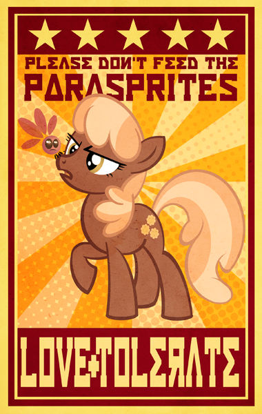 CheerileeParaspritePosterSM by PixelKitties