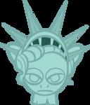Manehattan Statue Head