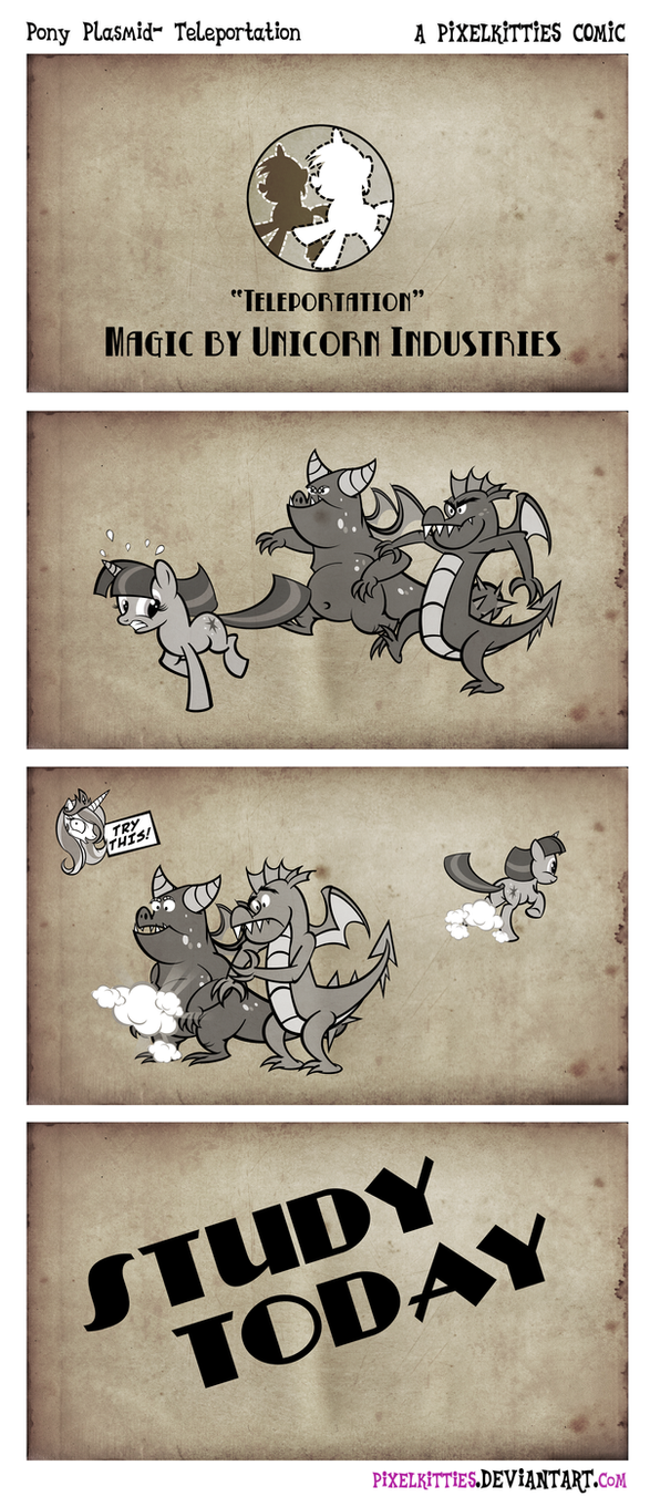 Pony Plasmid- Teleportation by PixelKitties