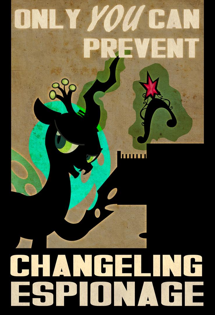 Changling Espionage by PixelKitties