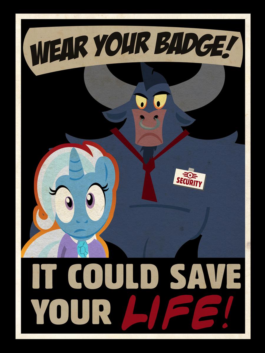 Badge Poster by PixelKitties