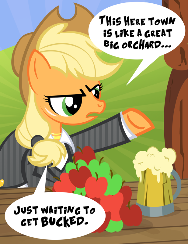Scarface Applejack by PixelKitties