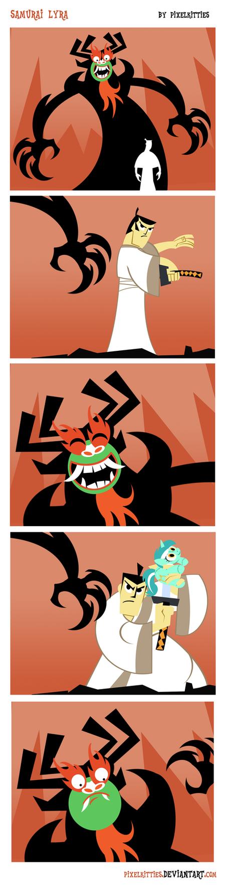 Samurai Lyra Comic by PixelKitties