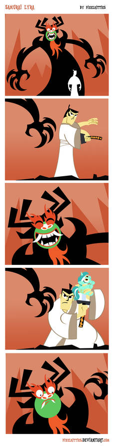 Samurai Lyra Comic