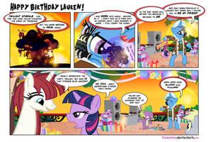 Happy Birthday Lauren! by PixelKitties