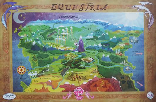 Hi Resolution Equestria Map