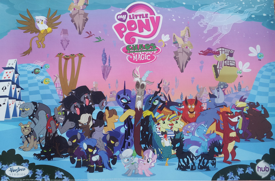 MLP Antagonists Poster by PixelKitties