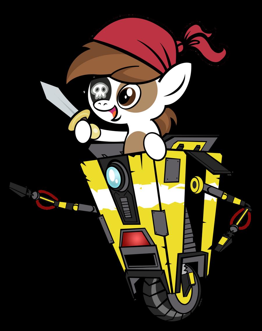 Clap Trap Pirate Pip by PixelKitties