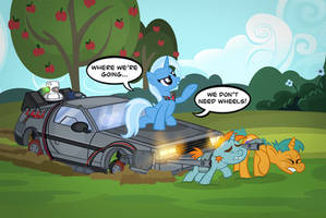 Who Needs Wheels? by PixelKitties